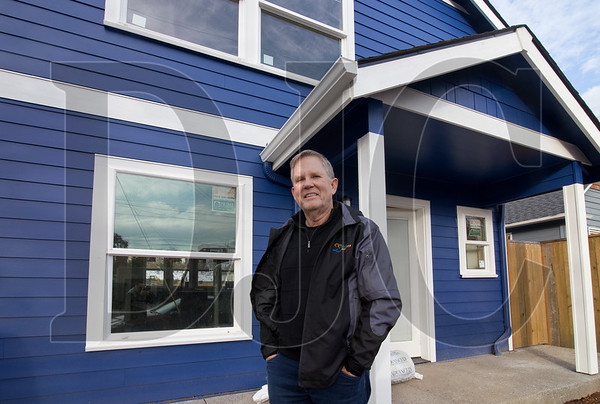 Joe Robertson is the founder of Shelter Solutions, which builds about 25 accessory dwelling units annually. (Sam Tenney/DJC)