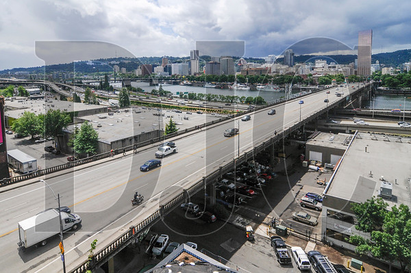 The Burnside Bridge is being targeted by Multnomah County officials for either replacement or a full seismic retrofit. (Sam Tenney/DJC file)