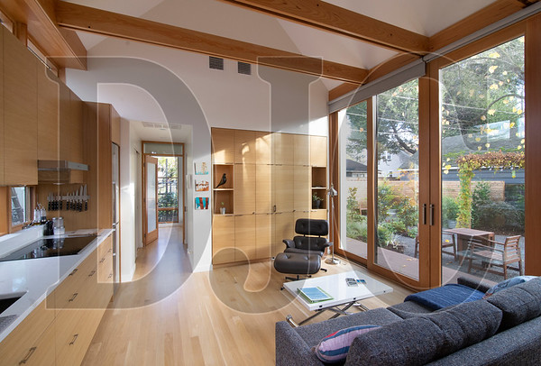 An accessory dwelling unit designed by Webster Wilson recently won a merit award from AIA Portland as part of the 2018 Portland Architecture Awards. (Sam Tenney/DJC)