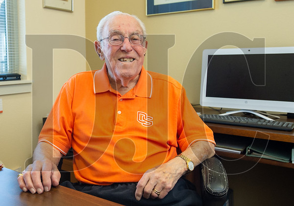 Retired civil engineer Bud Ossey had a hand in designing some of the largest hydroelectric power-generating facilities in the U.S. (Josh Kulla/DJC)
