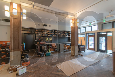 The ground floor will contain the lobby, restaurant and lounge space. (Josh Kulla/DJC)