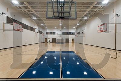 This is the gymnasium of the new Troutdale Elementary School built by the Reynolds School District and Bremik Construction. (Josh Kulla/DJC)