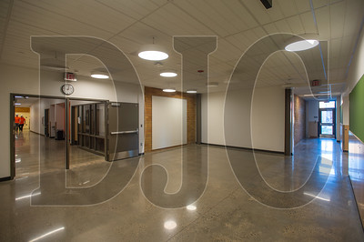 A common gathering space will be used as a supplemental learning area for nearby classrooms. (Josh Kulla/DJC)