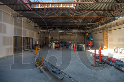 A large skylight in the school's library will provide the space with ample natural light. (Josh Kulla/DJC)