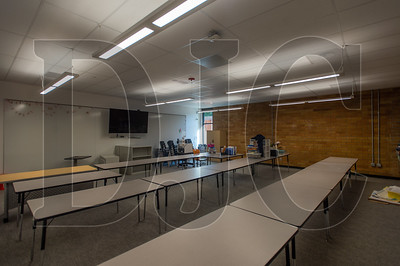 Existing classrooms are being updated with new windows and technology. (Josh Kulla/DJC)