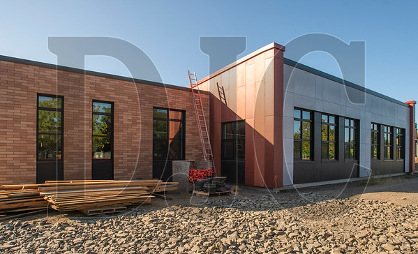 A classroom expansion nearing completion at Five Oaks Middle School is part of the third of eight construction phases at the Beaverton school. (Josh Kulla/DJC)