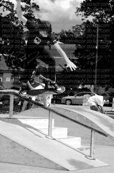 Skateboy 1 by D Jerome Smedley