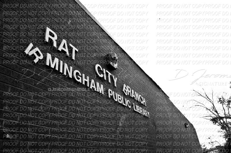 """The Pratt City Library """"Rat City"""" By D Jerome Smedley"""
