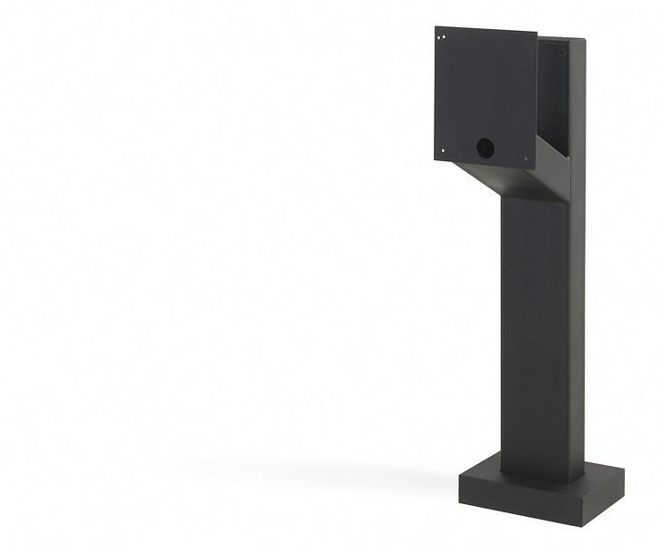 Designer style mount post gooseneck