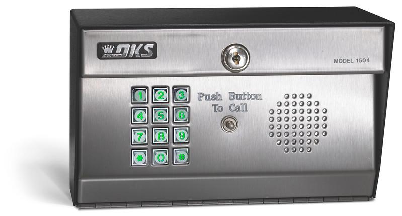 1504 Digital Keypad with Intercom