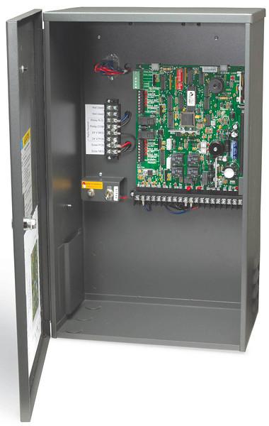 Solar control box - no batteries.