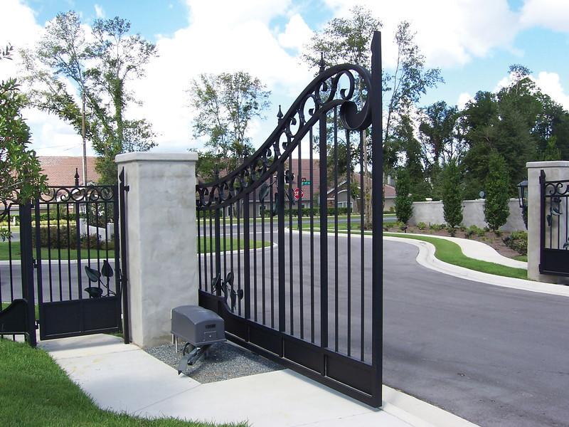 gate 1 inside open