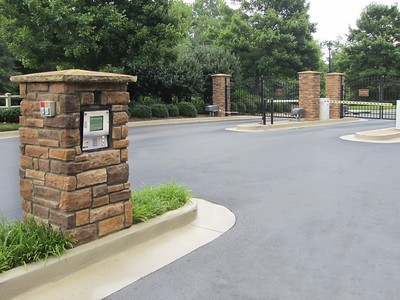 1837 Wall Mount, 6300 Swing Gate Operator & 1601 Barrier Gate