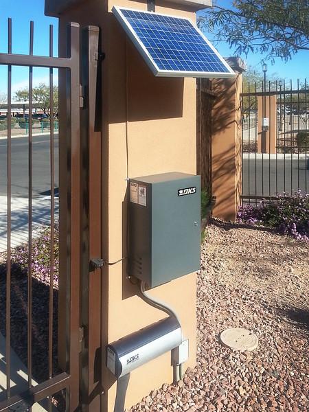 6004 Actuator, Control Box & Solar Panal