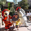 Madison, Corey, Tigger and Eeyore 11-10-02