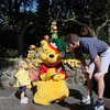 Pooh signing Madison's autograph book 11-10-02