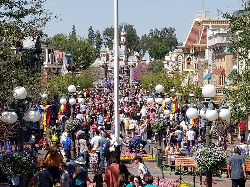 PICTORIAL: Disneyland construction projects move ahead at full steam as summer lurks around corner