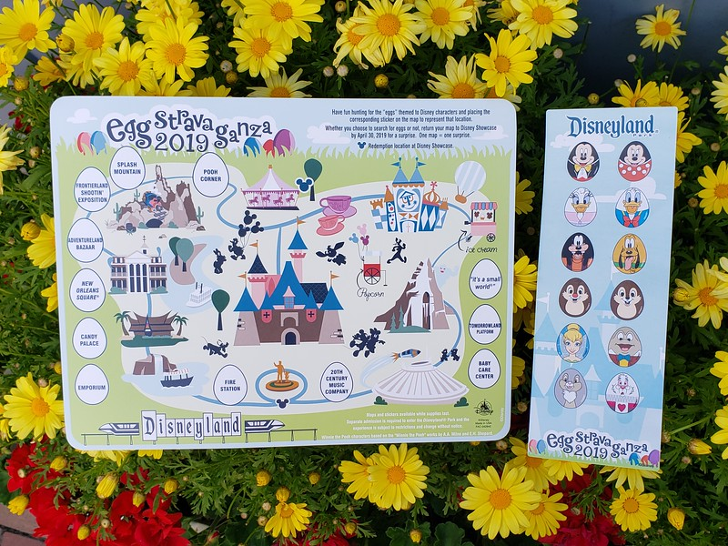 PICTORIAL: Disneyland Resort has hidden eggs on property and you can earn prizes for finding them all!