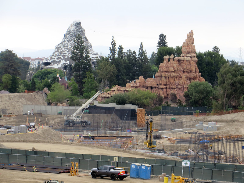 PICTORIAL: Summer gloom over progress with Star Wars land, Tom Sawyer Island and more