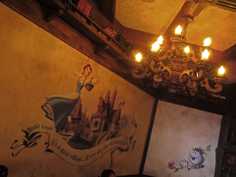 PICTORIAL: Inside Disneyland's new 'Beauty and the Beast' themed limited-time restaurant offering