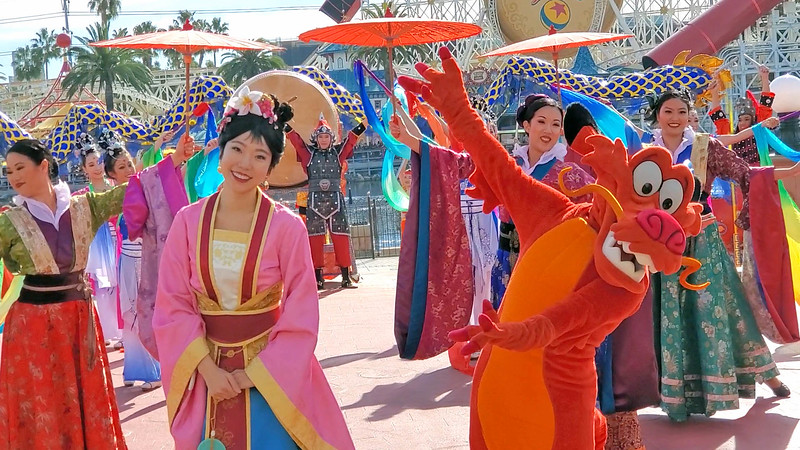 PICTORIAL: A complete look around 2020 Lunar New Year celebration at Disney California Adventure