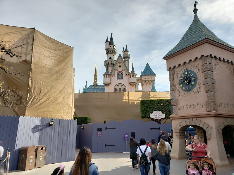 PICTORIAL: Disneyland off season brings closures, refurbishments; plus #Mickey90, Valentine's, Lunar, and more