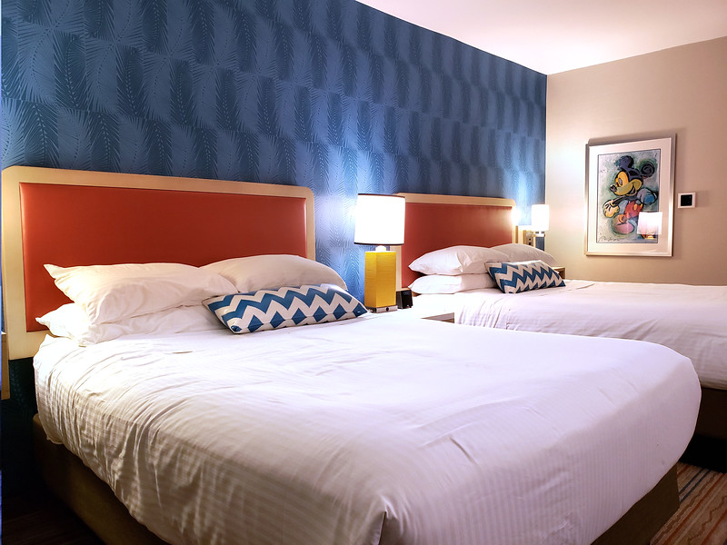 STEP INSIDE: Newly-renovated rooms at HOJO ANAHEIM feature updated amenities, same retro fun