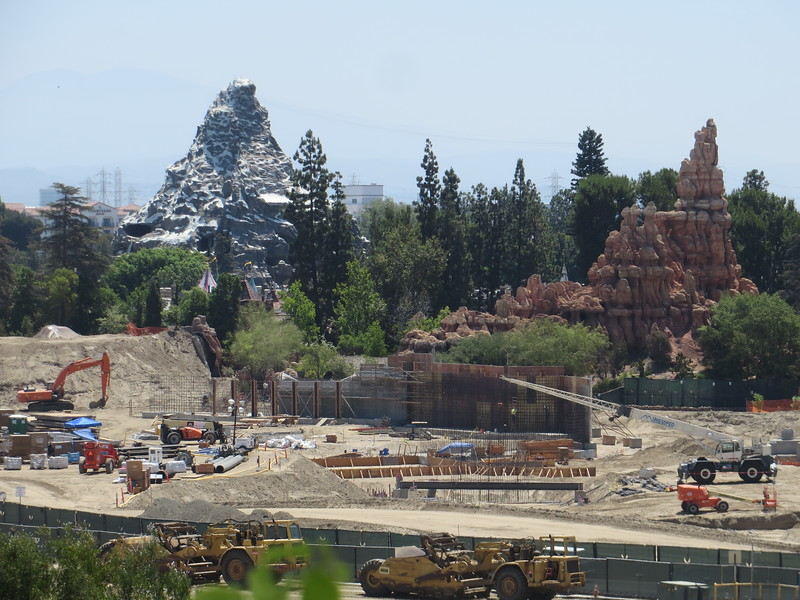 PICTORIAL: Star Wars themed land builds higher, Starbucks preps final details to open, and more