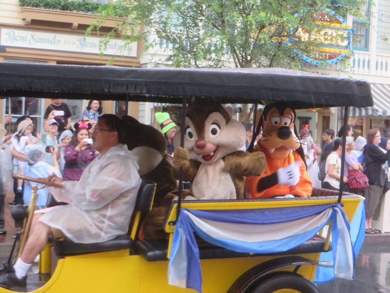 Mickey's Rainy Day Cavalcade at Disneyland