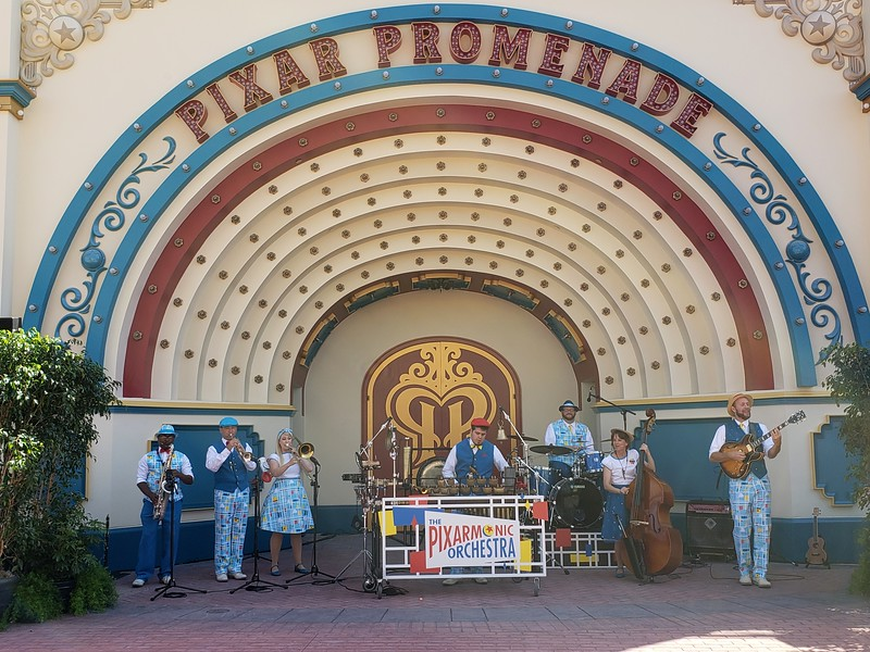 STILL A MUST-SEE: Pixarmonic Orchestra move into Pixar Pier bringing delightfully quirky sounds