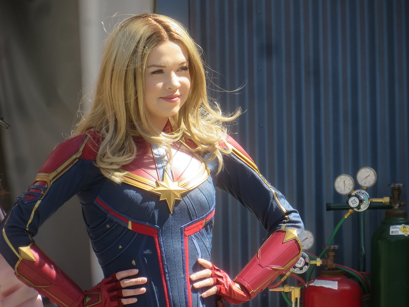 WATCH: Captain Marvel has landed at Disney California Adventure, appearances daily