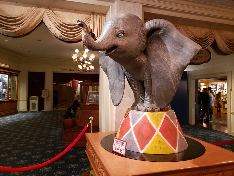 DUMBO flies in for a special limited-time sneak preview at Disneyland, DHS, Disney Cruise Line