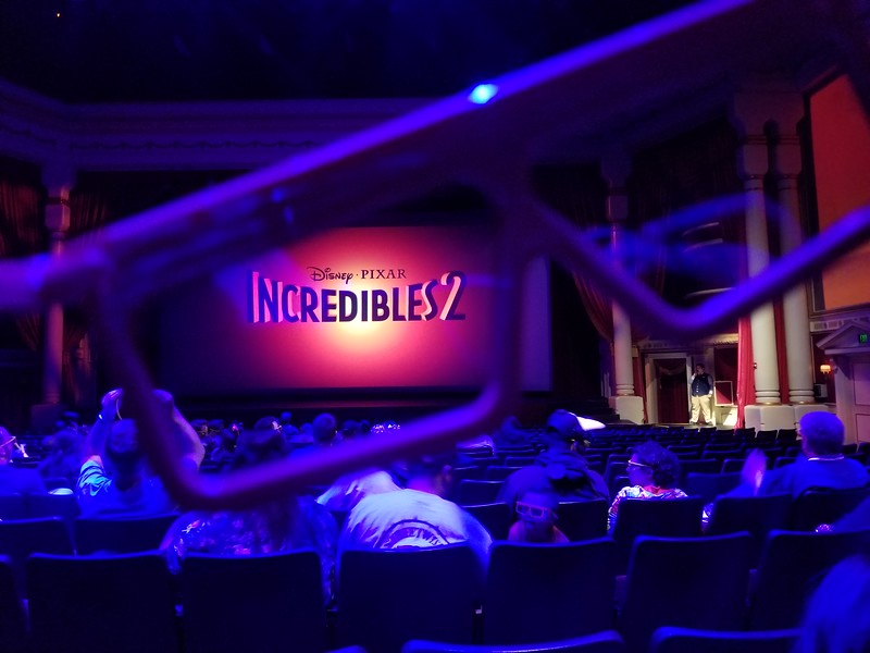 PICTORIAL: INCREDIBLES 2 exclusive 4D preview debuts at DCA