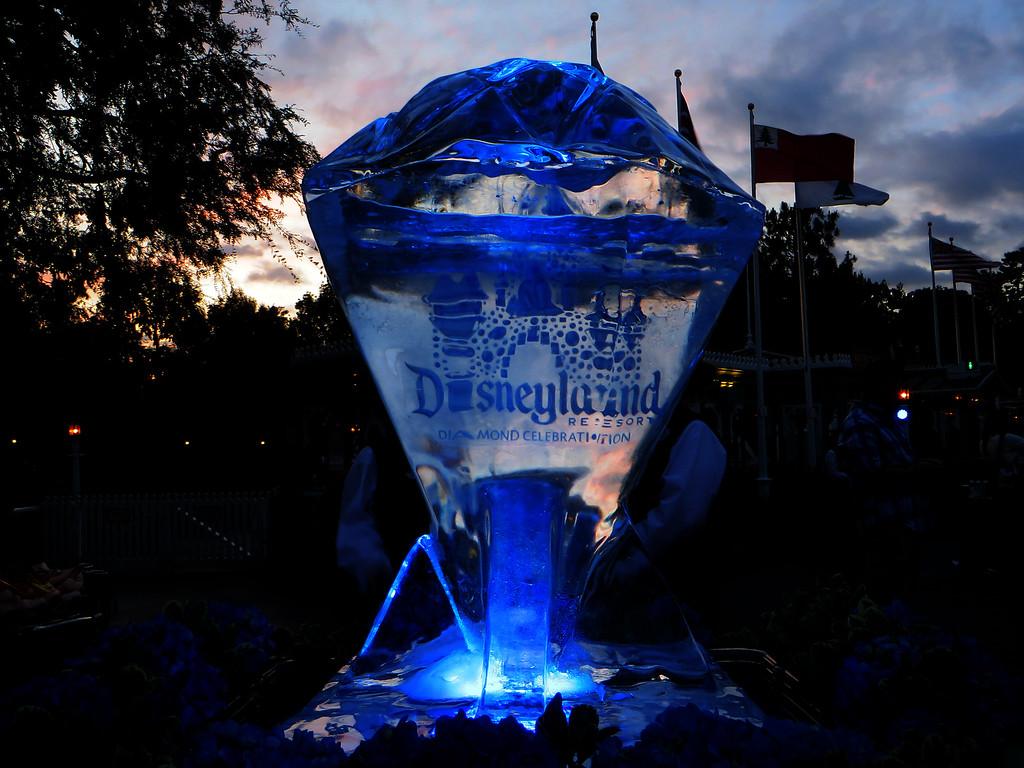 A look inside the Disneyland Diamond Celebration Premiere Party