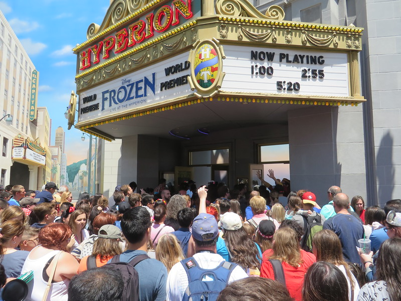 PICTORIAL: Memorial Day Weekend brings crowds, Frozen premiere, Star Wars land progress and more