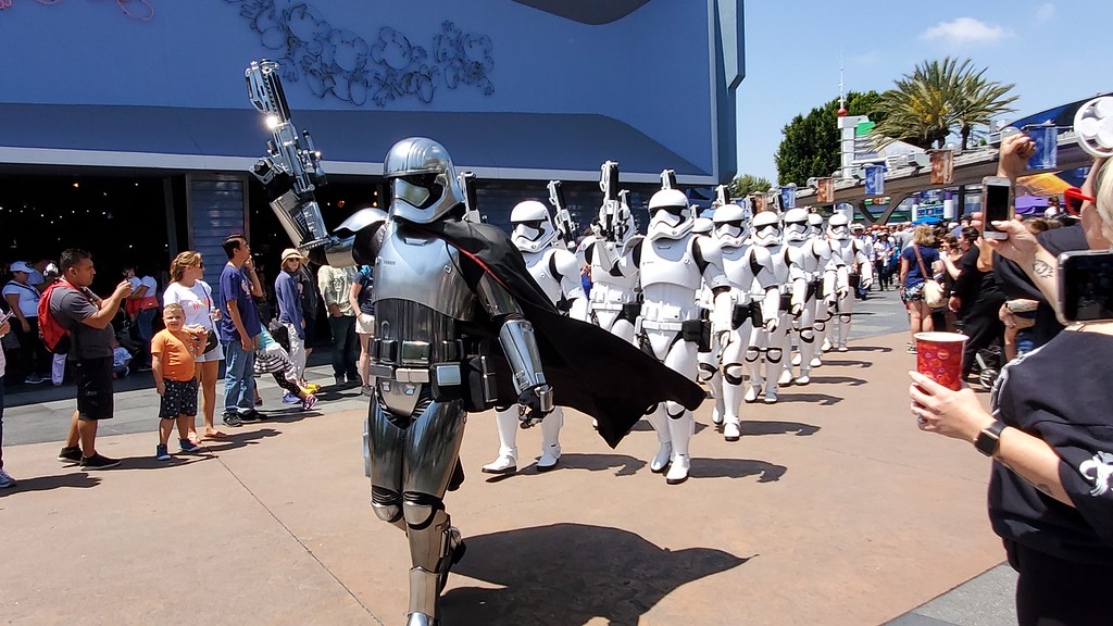WATCH: Captain Phasma and the First Order take over Disneyland during #MayTheFourthBeWithYou plus limited-time extras