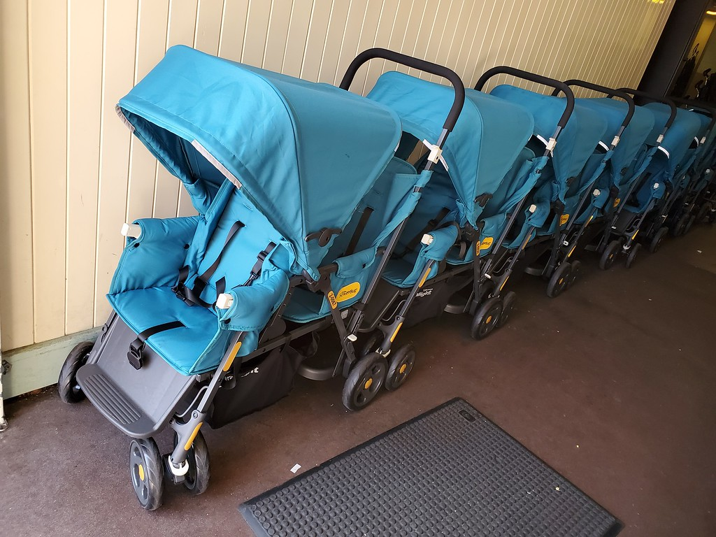 FIRST LOOK: Disneyland's new rentable double strollers which fit new size restrictions