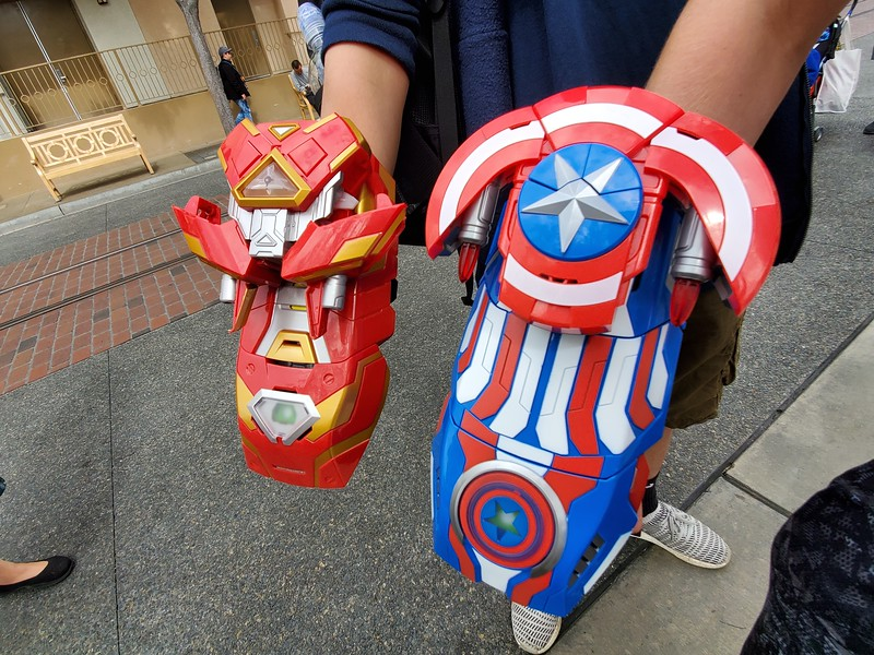 Disneyland Resort's latest customizable toy: Build Your Own Gauntlet