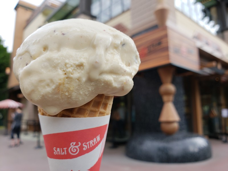 FIRST TASTE: 'Salt & Straw' opens at Downtown Disney, fancy ice cream for all!