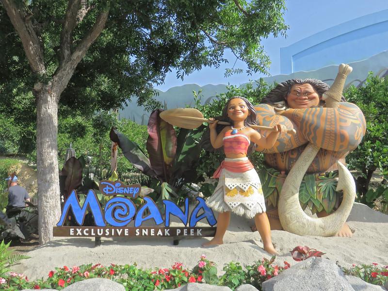 PICTORIAL: MOANA 4D Sneak Peek experience comes ashore at Disney California Adventure