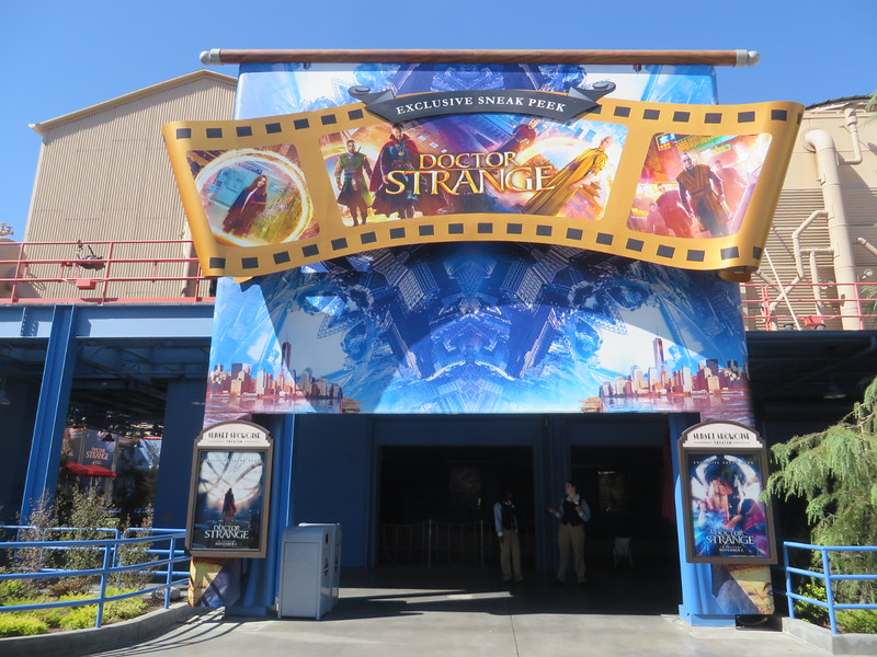 DOCTOR STRANGE preview debuts at Disney California Adventure with re-dressed Sunset Showcase Theater