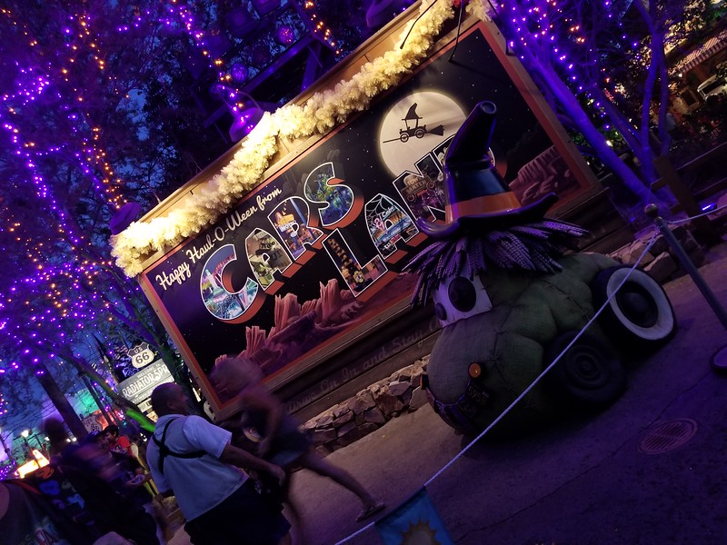 PICTORIAL: Explore massive Cars Land #HalloweenTime transformation