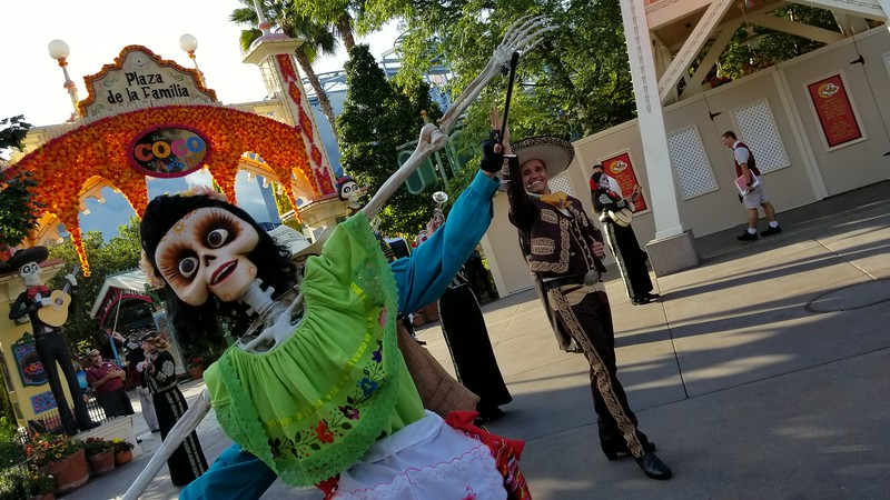 PICTORIAL: Take in the beautiful 'Dia de los Muertos' celebration at DCA, Pixar's COCO on display