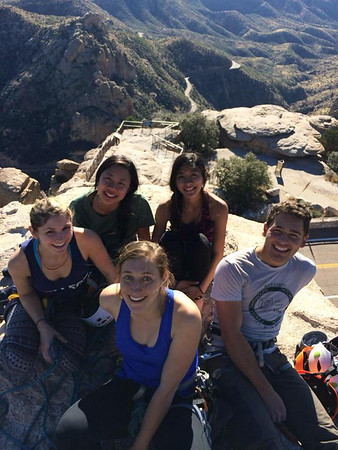 2015 Winter Break at Mount Lemmon