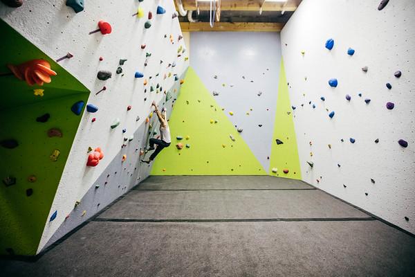 New Climbing Gym