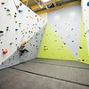 Morgan Hass, Newly renovated climbing gym.