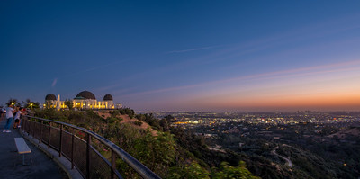 Sunset Griffith Observatory