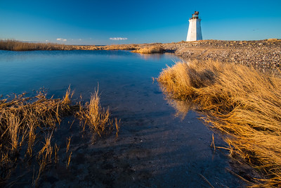 Early Morning Fayerweather Island Light house, Bridgeport, CT