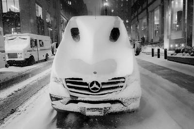 Bug-Eyed Snow Vehicle