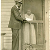A Methodist pastor delivers Bibles to people's homes during post-Reconstruction Era.